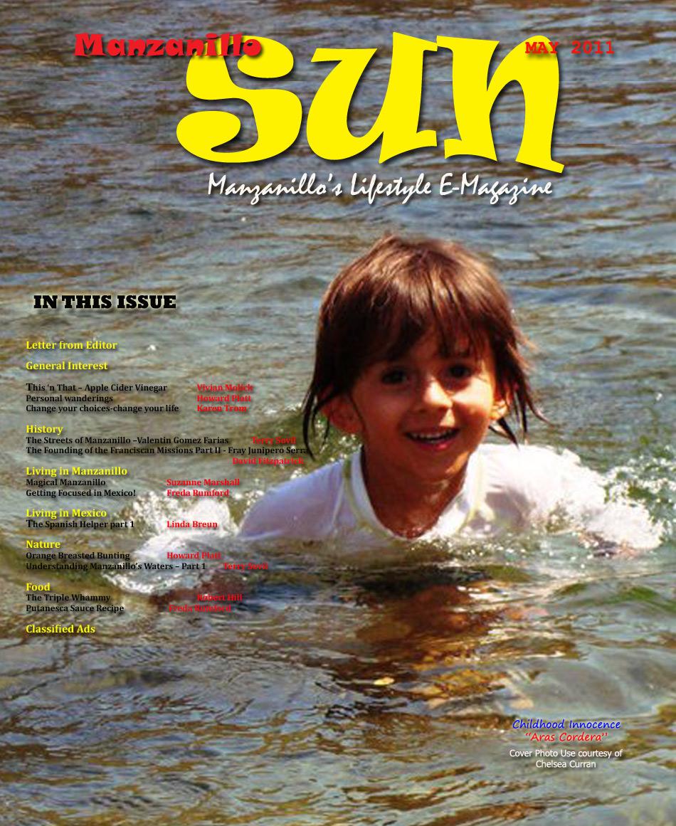 Manzanillo Sun May 2011 cover